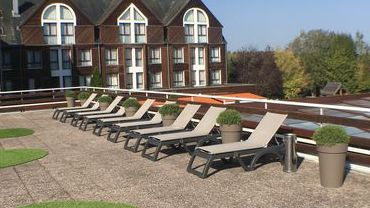 Terrasse panoramique hotel spa